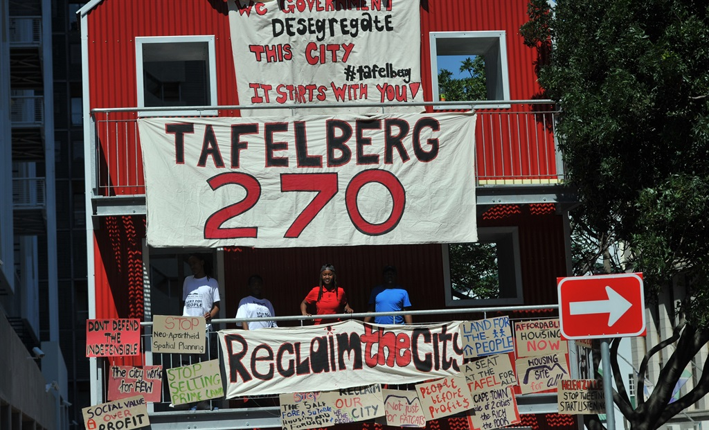 Reclaim the City has opposed the sale of the so-called Tafelberg land in Sea Point. (Lulama Zenzile, Die Burger, file)