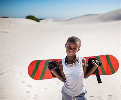 In the face of violence these kids find liberation on a sand dune