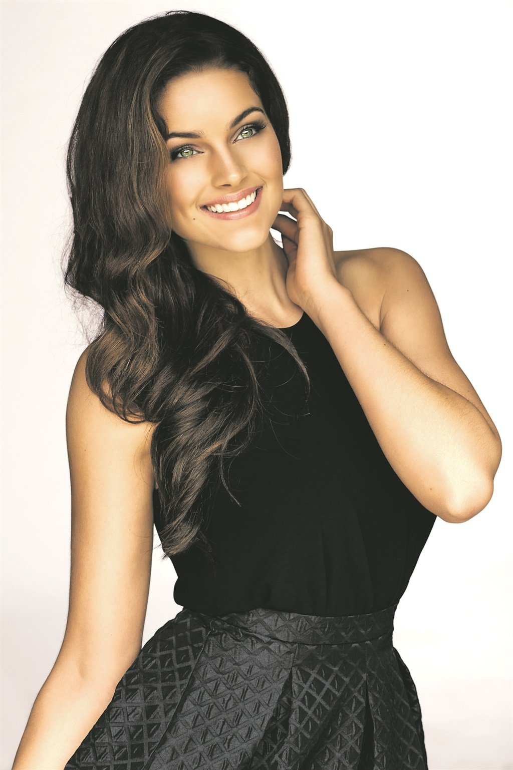 Former Miss SA Rolene Strauss. Picture: Jacques du Preez