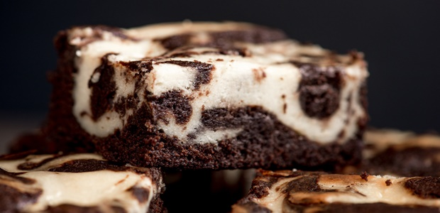 cheesecake brownie swirls