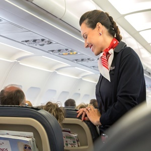 Flight attendants are exposed to a wide range of carcinogens.
