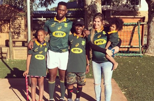 Image result for images of kolisi and wife
