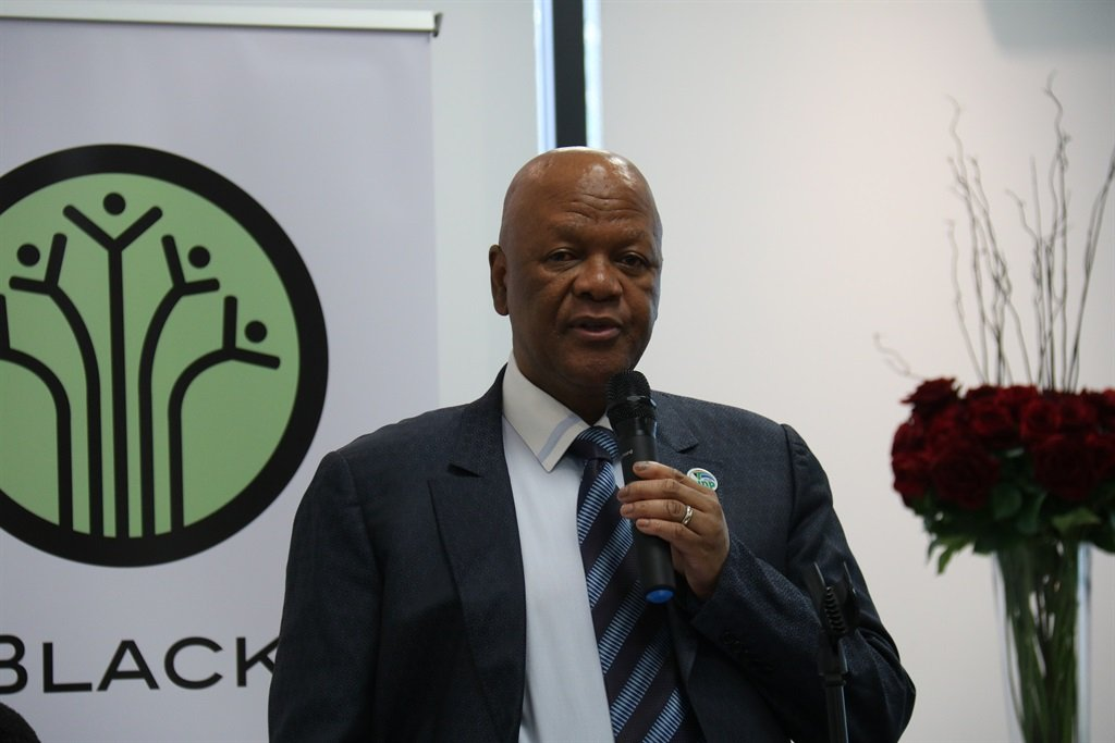 Minister in the Presidency Jeff Radebe meets with the Black Business Council to discuss NDP 2030 and engage in a roundtable discussion.Picture: Jacquelyn Guillen