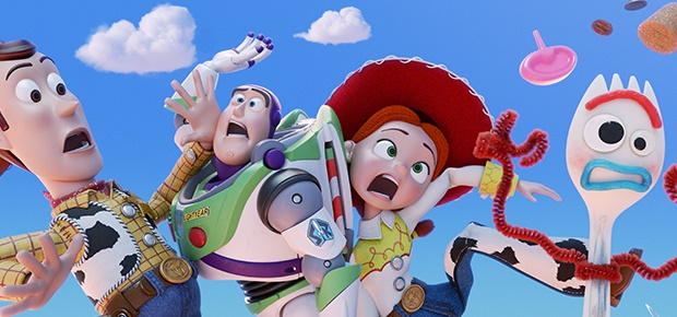A scene in 'Toy Story 4.'
