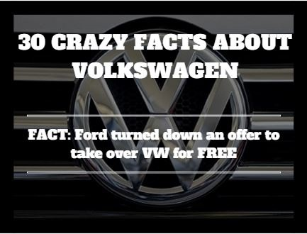 30 fascinating facts you might not have known about Volkswagen ...