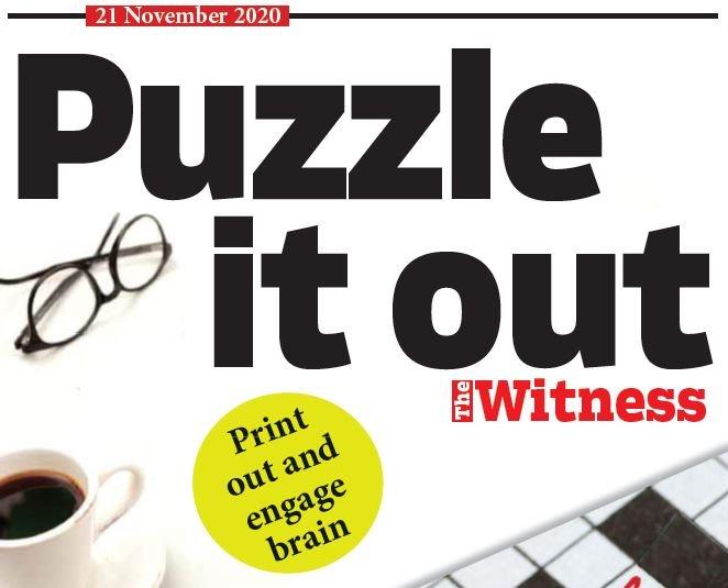 Puzzles, November 21, 2020.