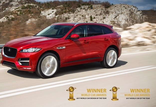 World Car 2017 The Jaguar F Pace Was Crowned Of Year