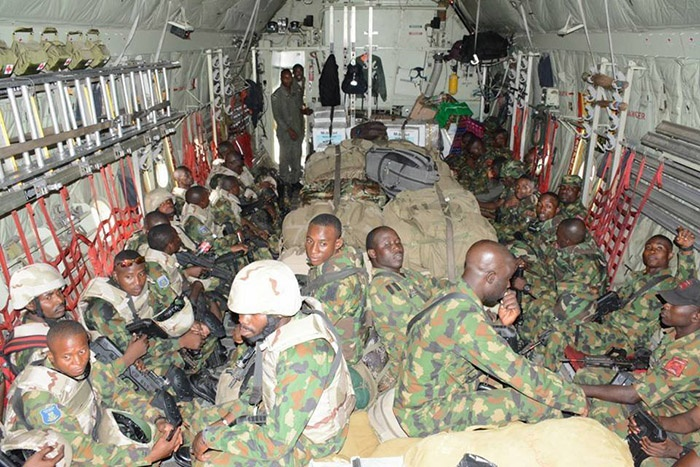 Air force deploys special troops to taraba state