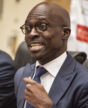 Finance Minister Malusi Gigaba.(Photo: AFP)