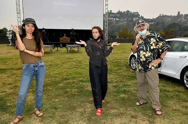Chloé Zhao, Frances McDormand, and Fox Searchlight