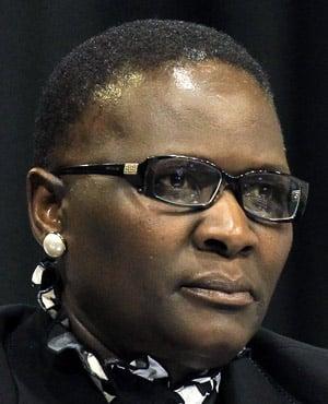 Riah Phiyega (File: AP)