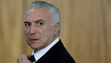 WATCH: Corruption charges filed against Brazil president Temer