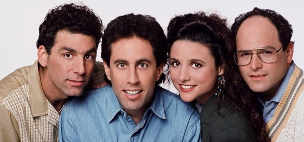 The cast of Seinfeld. (Photo supplied)