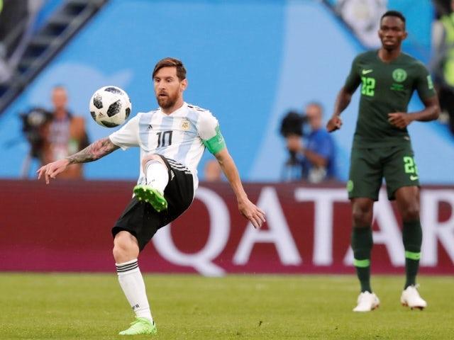 Messi-Super Eagles
