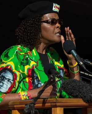 Grace Mugabe (File: AFP)
