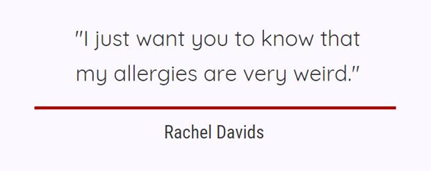 allergies,health