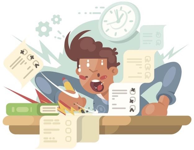 parent stress during exam time
