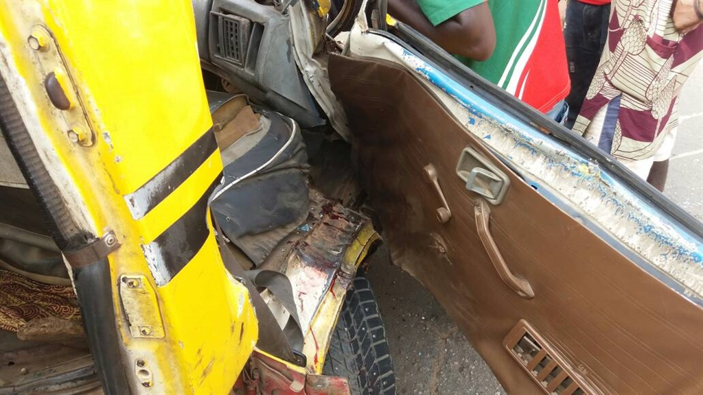 danfo in lagos in accident.