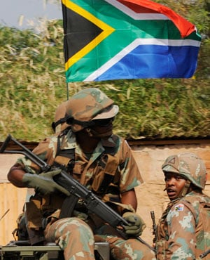 SANDF (Picture: AFP)