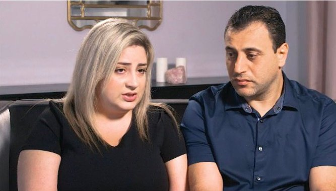 Anni and Ashot Manukyan, of the Los Angeles suburb of Glendale, were one of three couples who had their embryos mishandled by CHA Fertility Centre. (Supplied, Twitter)