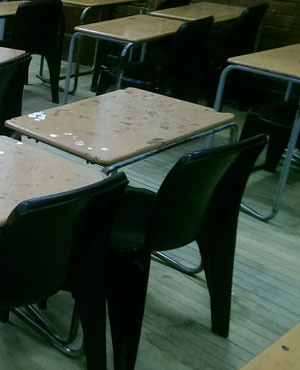 School desks. (File, Duncan Alfreds, News24)