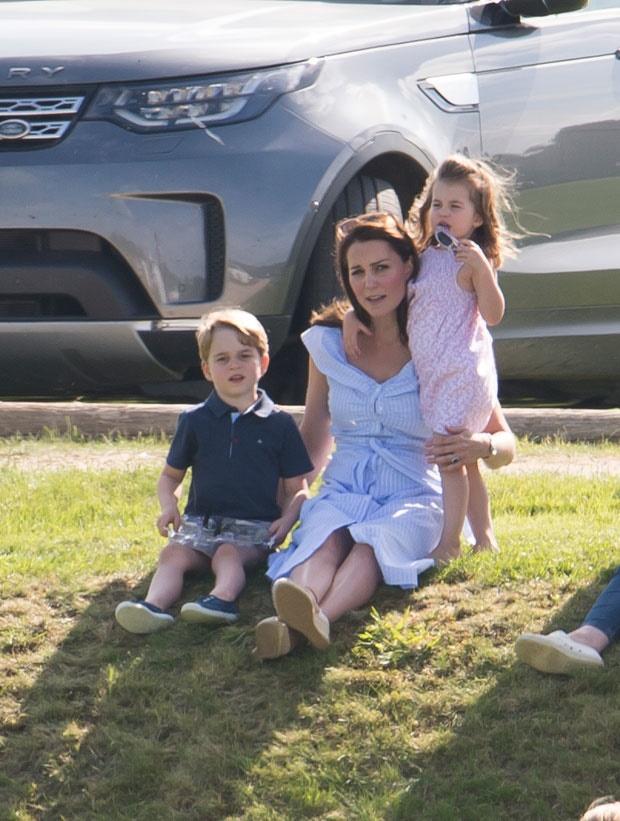 princess charlotte, prince george, kate middleton