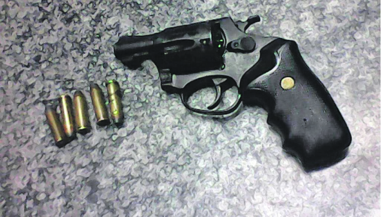The recovered unlicensed revolver and ammunition will be sent for ballistic testing to determine whether it was used to commit the murder the trio was arrested for.Photo: supplied