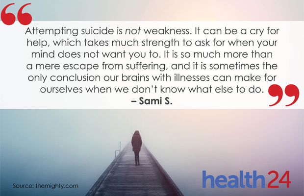 What To Do And Say When Someone Wants To Commit Suicide Health24
