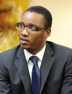 Duduzane Zuma. Photo: Brendan Croft