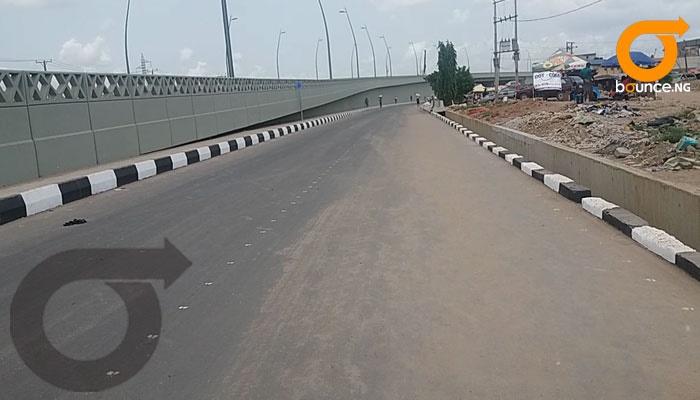 Abule Egba bridge.