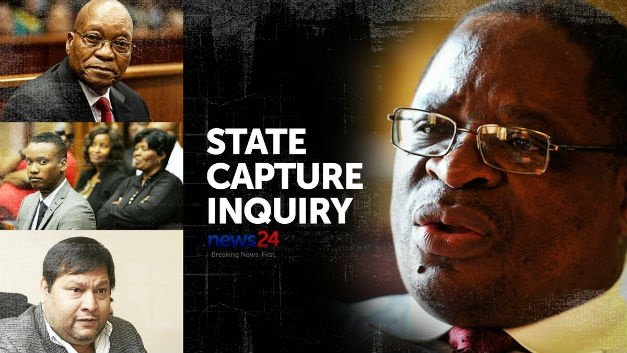 Commission of inquiry into state capture graphic