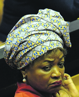 National Assembly Speaker Baleka Mbete. Picture: Lulama Zenzile