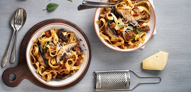 mushrooms, beef,ribs,pasta, recipes, foods24