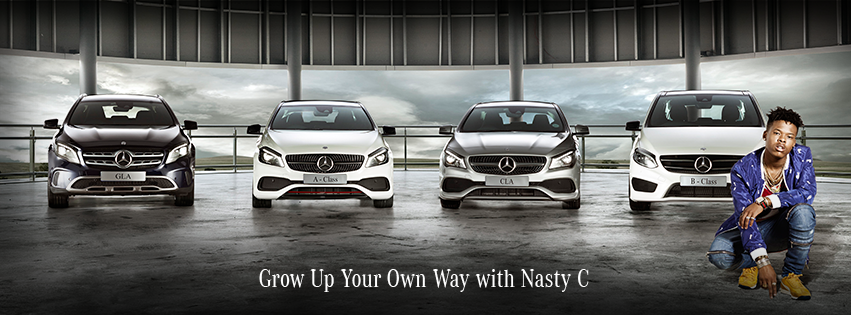 Mercedes Benz History Of Models >> NASTY C BAGS NEW MERCEDES BENZ DEAL! | Daily Sun