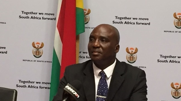 Minister of Transport, Joe Maswanganyi