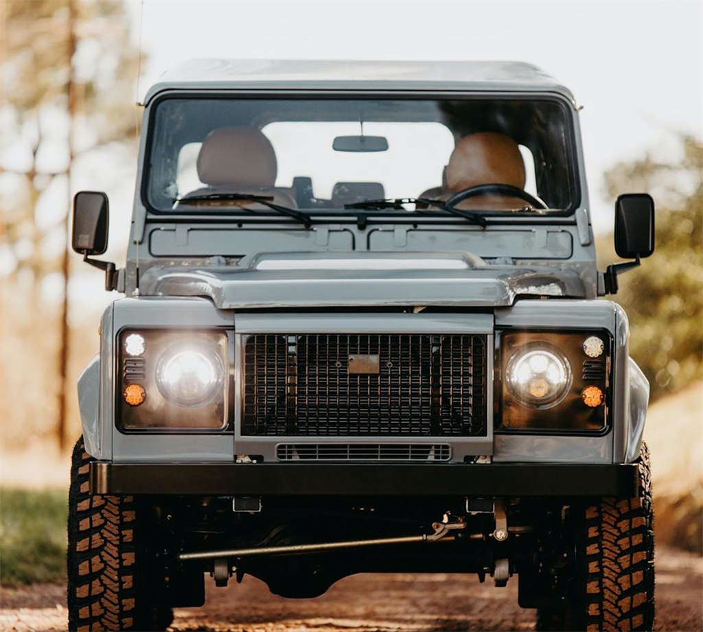 The Land Rover Defender (supplied)