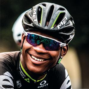 Nicholas Dlamini is a renowned cyclist