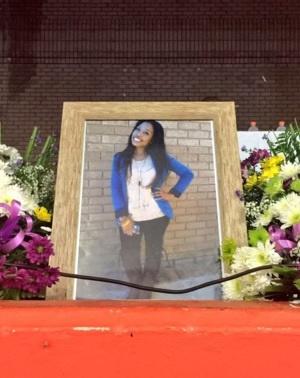Memorial service for Palesa Madiba. (EWN, Twitter)