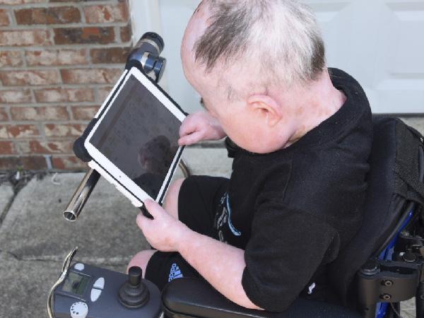 Reef wheelchair iPad