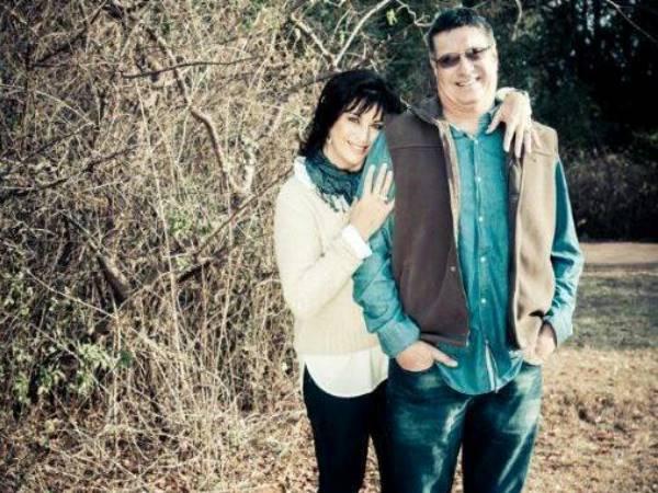'n Stralende André en Mirinda. Foto: Facebook