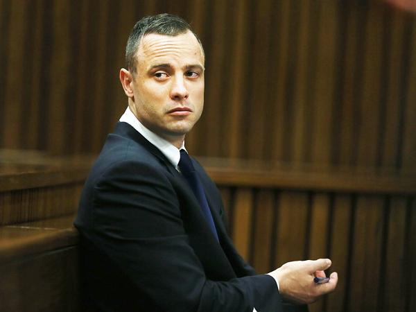 Oscar Pistorius op die 27ste dag van sy hofverskyning op 6 Mei. (Alon Skuy/Times Media  Group/Sapa)