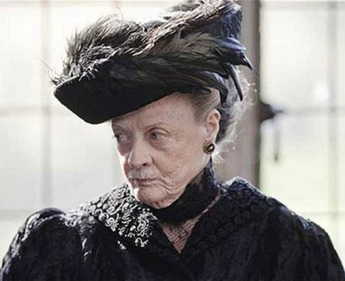 Dowager Countess of Grantham of Downton Abbey