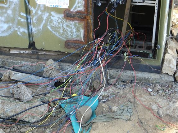Image result for south african illegal electricity connections