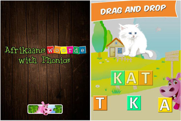 First Afrikaans Words with Phonics