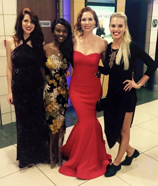 Amalia Uys, Shoki Mokgapa, Anel en Leandie du Randt.