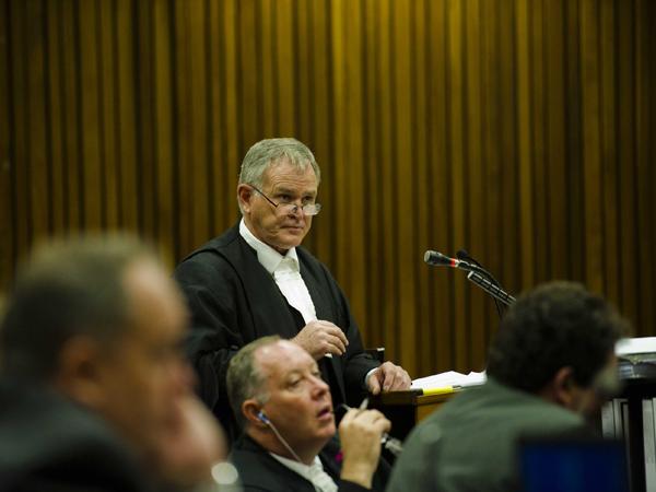 Oscar Pistorius se advokaat, Barry Roux. (Foto: Alet Pretorius/Media24/Sapa)