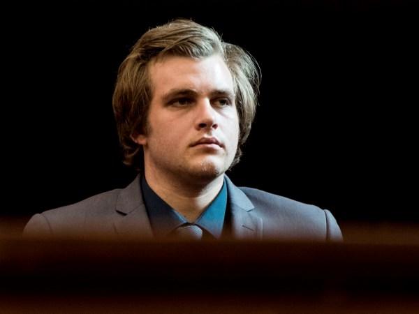 Henri van Breda in die hof. Foto: Gys Visser