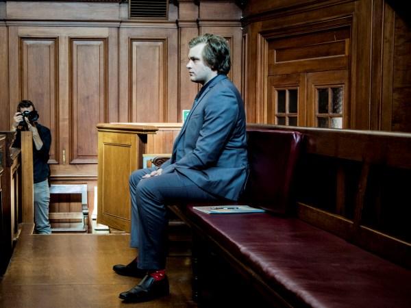 Henri van Breda in die Kaapse hoogeregshof. Foto: Gys Visser