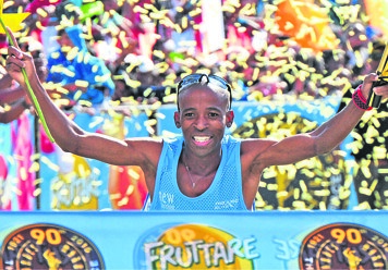 Gift teams up with gatebe daily sun gift kelehe and his training partner david gatebe down run record holder are ready for an uphill battle at the comrades marathon on sunday negle Images