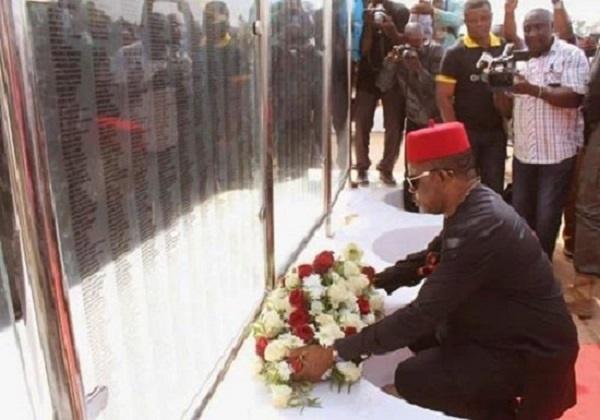 obiano biafra cenotaph